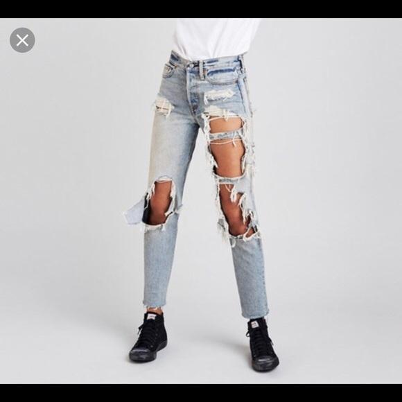 2cd151b4359 Levi s Denim - Levi s X Rolling Stone Wedgie Jeans